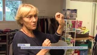 Social : le secours populaire de Versailles inaugure ses nouveaux locaux
