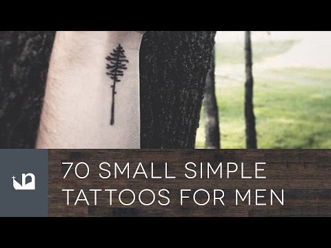 70 Small Simple Tattoos For Men