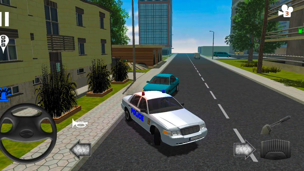 Police Patrol Simulator - Police Escape Driving Simulation 2021 - Android Gameplay