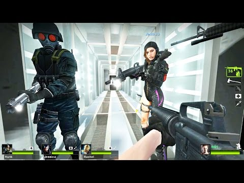 Left 4 Dead 2 - The Hive Custom Campaign Gameplay Playthrough