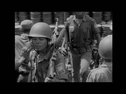 Pasukan ABRI berangkat ke Kalimantan & Sidang Kabinet Ampera bln Oktober 1966