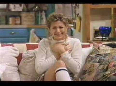 Jennifer Aniston's bloopers on Friends