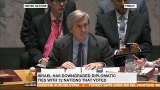 Ali Abunimah on AJE: Israel reacts to UN vote