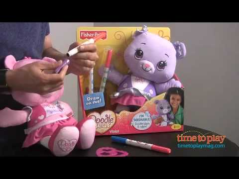 Doodle Bear From Fisher-Price