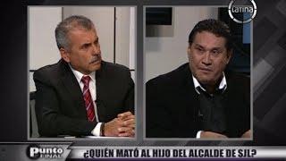 """Habla Carlos Burgos: """"Mi hijo me contó que había recibido amenazas de extorsionadores"""""""