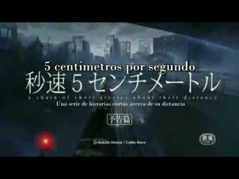 Trailer do filme Cinco Centímetros por Segundo