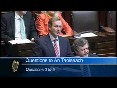 Taoiseach Enda Kenny challenged by Michéal Martin over Bank Guarantee remarks