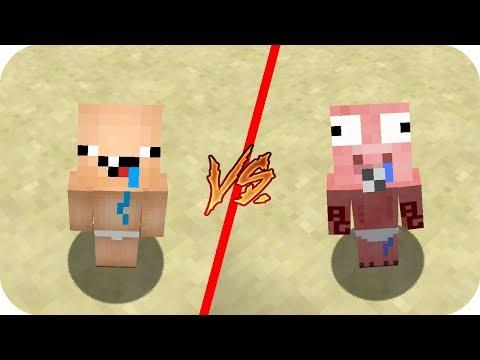 Casa Bebe Nubi vs Casa Bebe Aenh - Minecraft