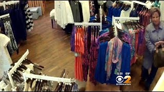 Woman Caught On Camera Stealing Hundreds Of Dollars Of Clothes From L.I. Store
