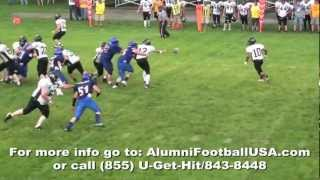 6-23-12 Eddyville-Blakesburg vs Albia (Highlights) Alumni Foot…