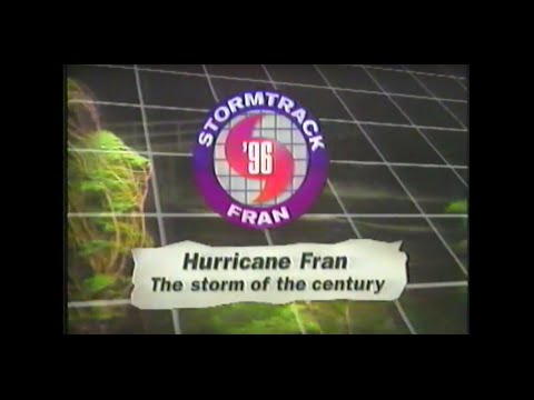 [VHS] Hurricane Fran - The Storm of the Century (11ABC Documentary)