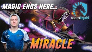 Miracle AM [Magic ends here..] - Dota 2 Pro MMR Gameplay