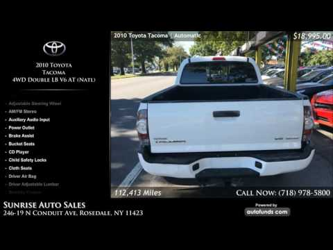 Used 2010 Toyota Tacoma   Sunrise Auto Sales, Rosedale, NY