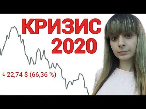 КРИЗИС 2020 года! Обвал рынков в России и в мире! Мой портфель акций 2019-2020