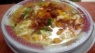 Resep dan Cara Membuat Sup Jagung Manis(Menu Buka Puasa)