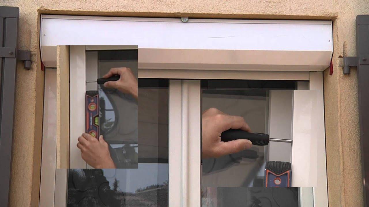 Favori Comment poser un volet roulant sous linteau ou en façade ? - YouTube AR16