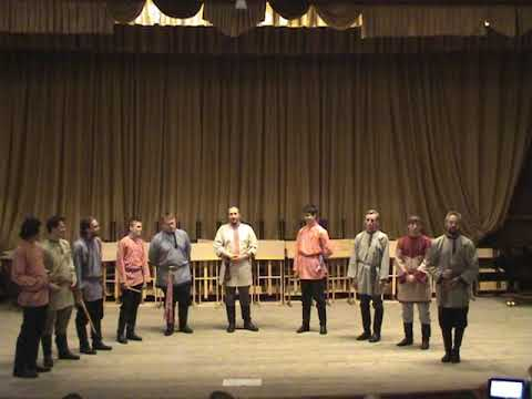 Московский хор рожечников под упр  Б  Ефремова ч  1