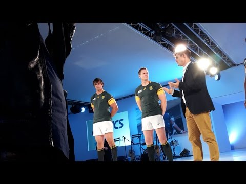 c523c98be3e Springboks target World Cup success with groundbreaking Asics apparel |  Zululand Observer