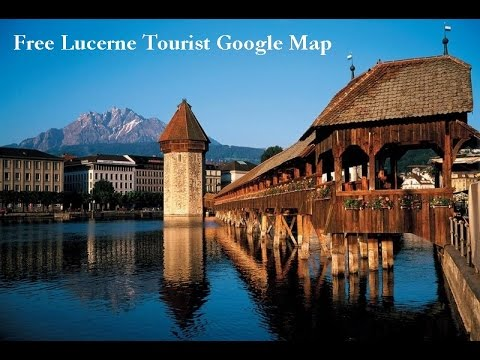 Free Tourist Map from Lucerne Switzerland YouTube