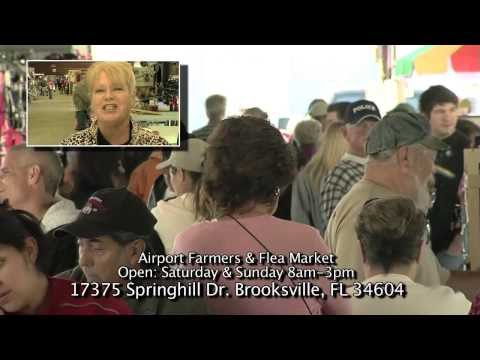 Hernando County Airport Farmers and Flea Market in Brooksville on Spring Hill Drive