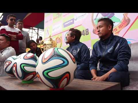 PRE-MATCH CONFERENCE ll FINAL MATCH ll JHAPA XI vs TRIBHUVAN ARMY ll