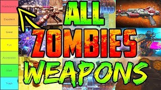 RANKING ALL 48 ZOMBIES WONDER WEAPONS!! (There's some you've forgot!😂)