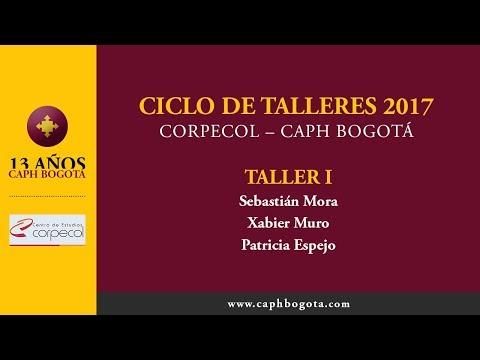 CICLO DE TALLERES 2017 | CORPECOL | CAPH BOGOTÁ | TALLER 1