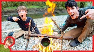 Father Son Nick39s Sticks Survival Soup Adventure