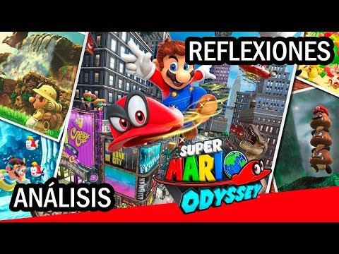 Super Mario Odyssey (Switch) - Análisis y reflexiones