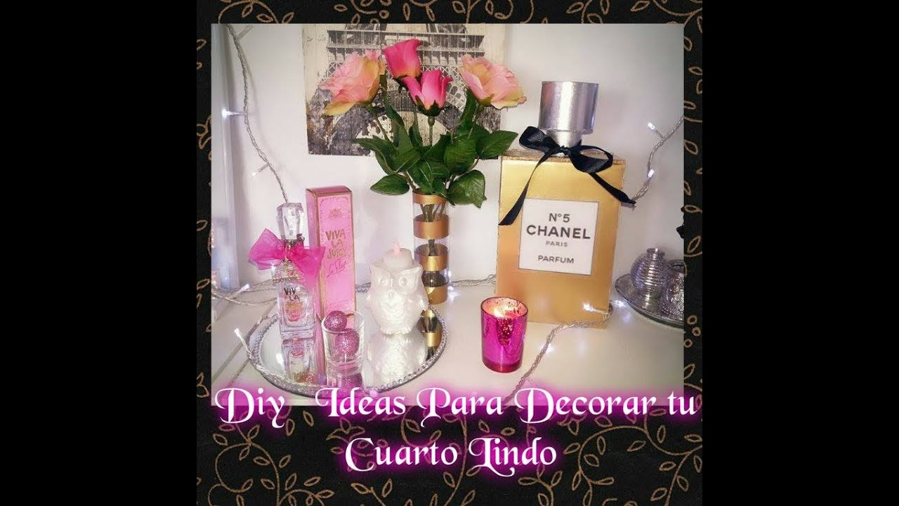 Diy 3 ideas para decorar tu cuarto youtube for Ideas faciles para decorar una habitacion