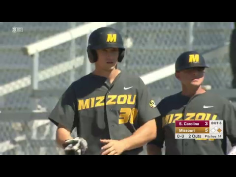 HIGHLIGHTS: Mizzou Baseball Takes South Carolina Series with Mother's Day Win