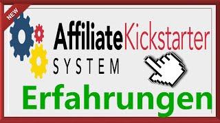 Affiliate Kickstarter System - Affiliate Kickstarter System Er…