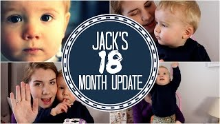 JACK'S 18 MONTH UPDATE | Sleep routine, Favourite things & Independent Play!