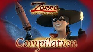Les Chroniques de Zorro   1 Heure COMPILATION   Episode 10 - 12   Dessin de super-héros