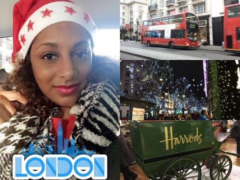 VLOG LONDRES 🇬🇧 SHOPPING & CHRISTMAS VIBES 👑🎄🤶🏾💄