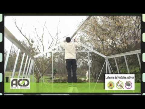 Vidéo FFAB Montage de Serre