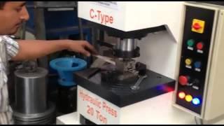 C Type Hydraulic Press Machines by Rajdeep Machine Tools Rajkot