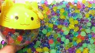 Learn DIY Orbeez Beads Satisfy Art with Kids Toys Fun Play
