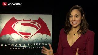 Interview Gal Gadot BATMAN V SUPERMAN: DAWN OF JUSTICE