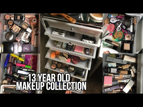 13 Year Old Makeup Collection 2018