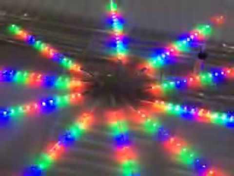 mini led meteor shower lights