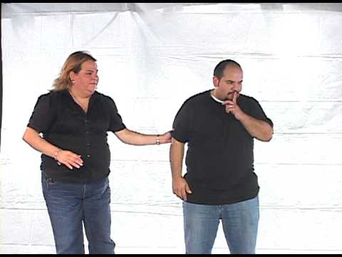 "Married Couples' Retreat skit ""Living In Harmony"""