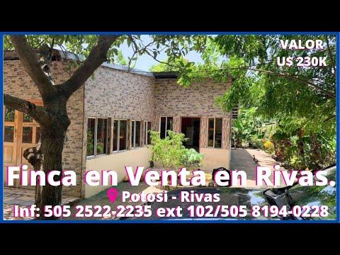 Venta De Fincas - Casas - Quintas En Rivas.