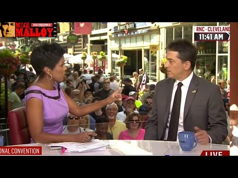 Download Youtube: MSNBC's Tamron Hall Destroys Scott Baio On Live TV For Calling Hillary Clinton A Cunt