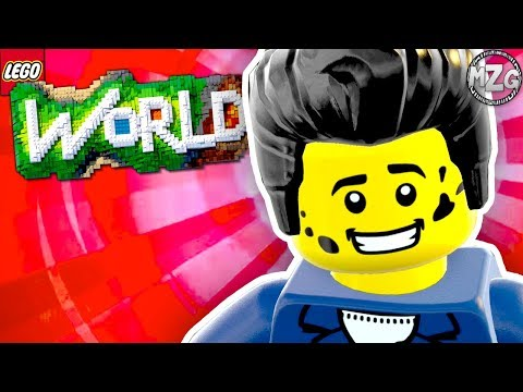 1950s Builds! - LEGO Worlds Gameplay - Episode 28