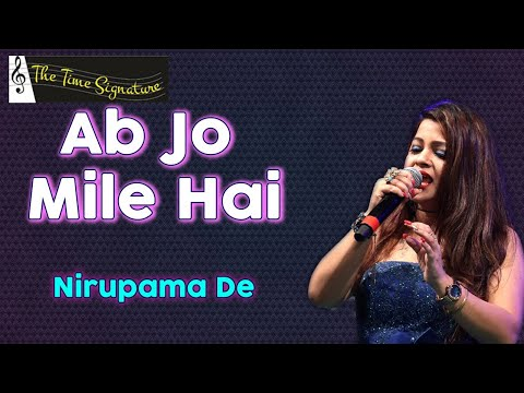 Ab jo mile hain to by Nirupama De @ Pancham show on 13th April 2016