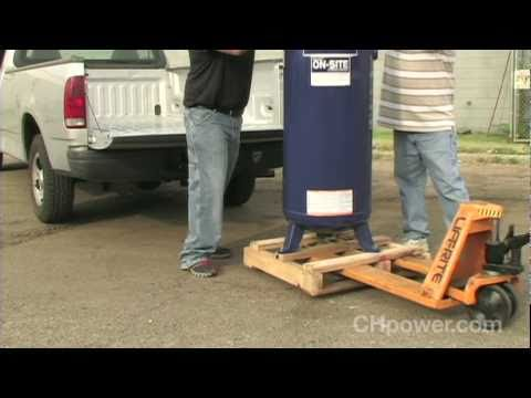 How to Set Up Your 60 Gallon Air Compressor - YouTube