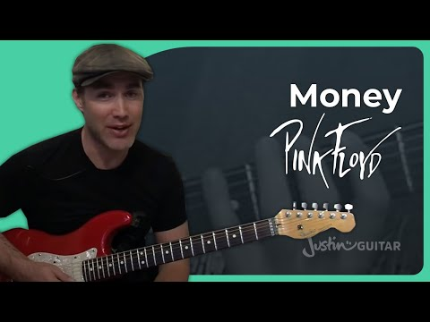 Money - Pink Floyd - Guitar Lesson Tutorial Riff