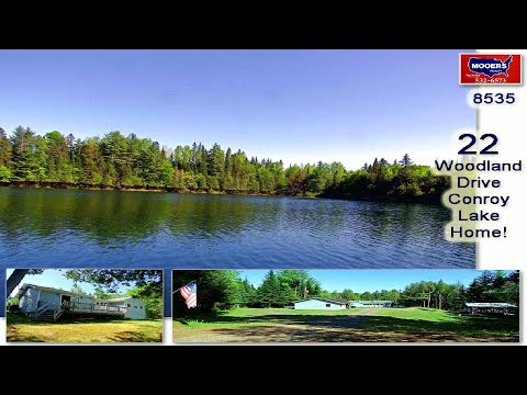 Maine Lake Home For Sale, Real Estate On Conroy Lake! MOOERS #8535