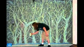 "Chalk Wall Stop Motion by UnicornStopMoCo -- Music: ""Altogether Now"" by Patrick and Eugene"